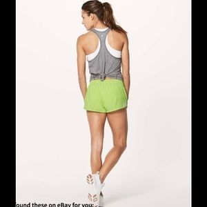 "Lululemon Hotty Hot Short II (2.5"") in Faded Zap"
